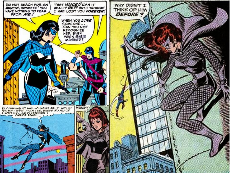 daves comic heroes blog black widow tales of suspense