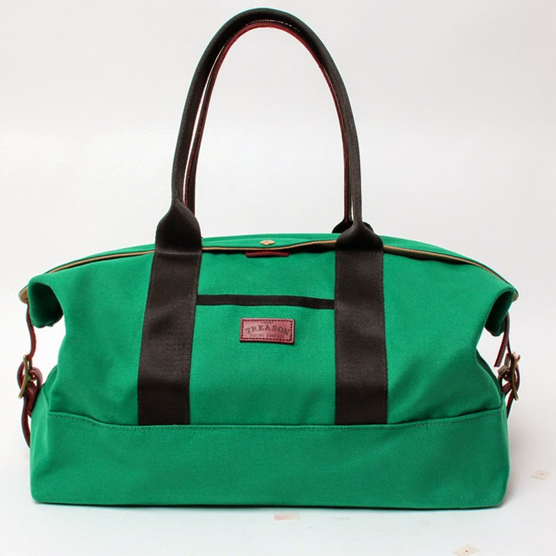 Treason Toting Co:  The Gordon Duffle - Weekender Bag