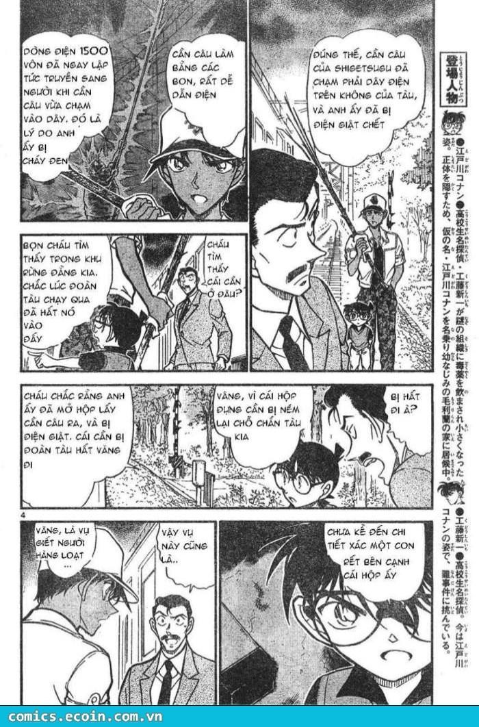 Detective Conan - Thám Tử Lừng Danh Conan chap 617 page 4 - IZTruyenTranh.com