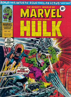 Mighty World of Marvel #162, Hulk vs Gremlin