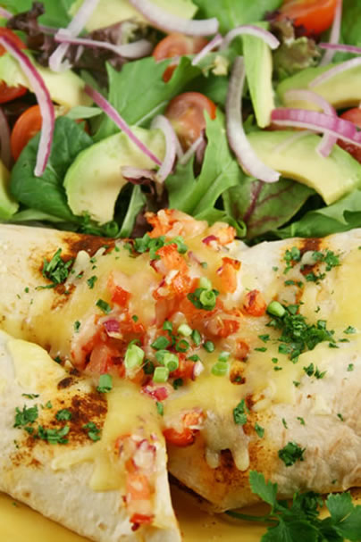 Real Good Recipes: Traditional Chicken Enchiladas