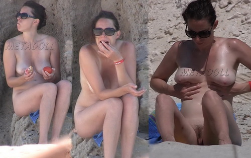 NudeBeach sb14099-14106 (Nude Girls Beach Voyeur Hidden cam)