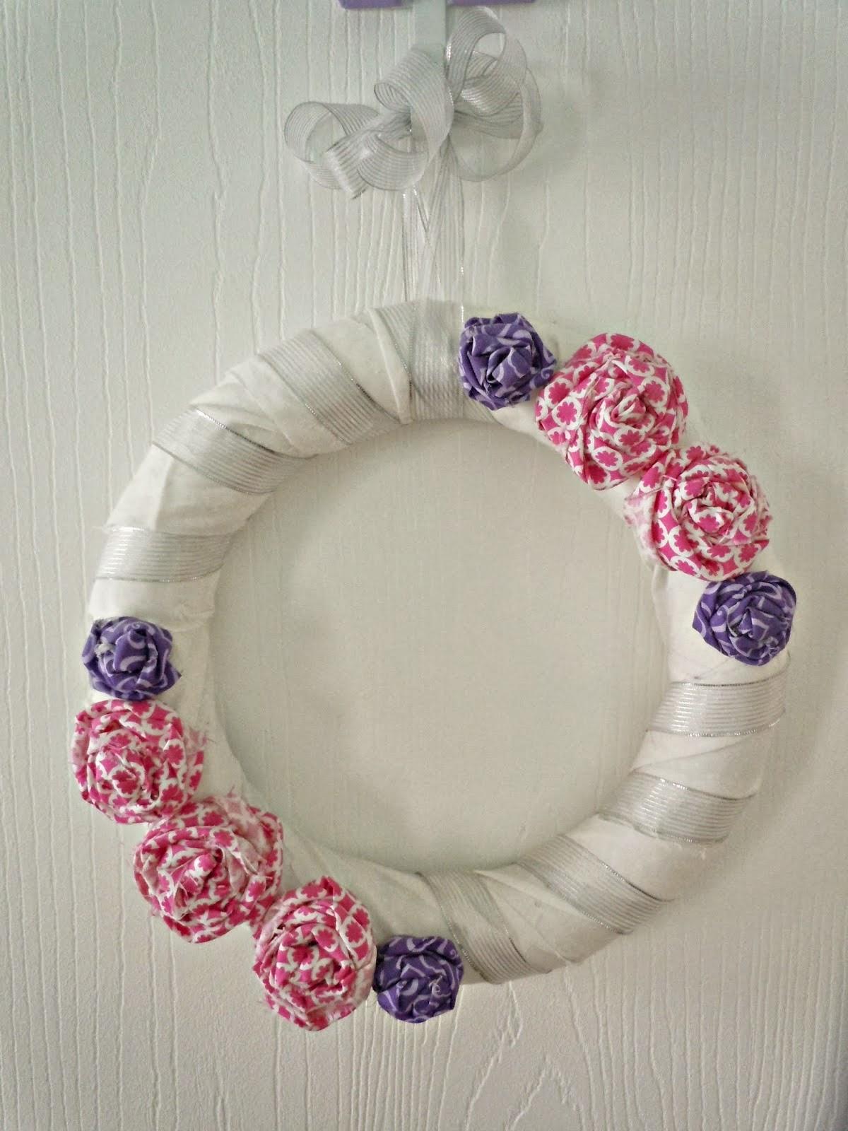 http://www.lifealittlebrighter.com/2013/02/fabric-rose-wreath.html