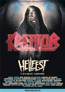 Kreator-Hellfest 2011