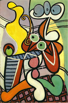 Spectacle loves you happy birthday picasso - Pablo picasso nature morte a la chaise cannee ...