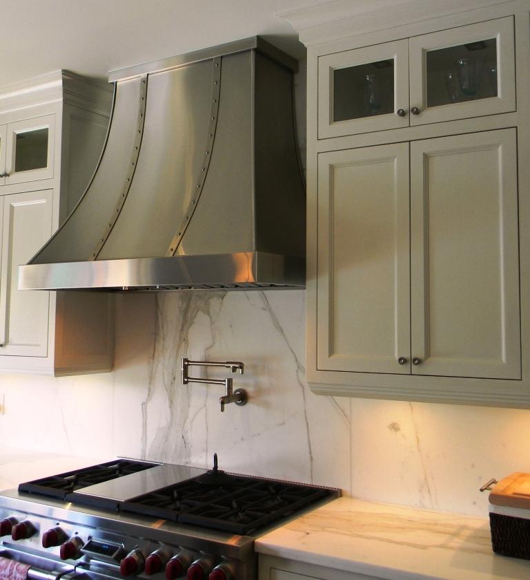 Custom range hoods stainless steel range hoods for Kitchen range hood pictures
