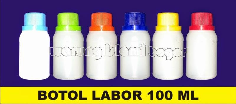 Jual Botol Plastik HDPE Agro Labor 100ml Warna Warni