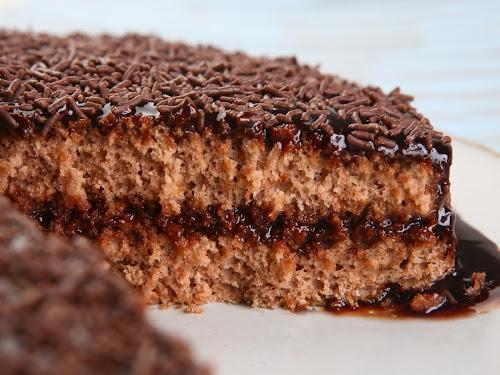 Dia de Cozinha: Bolo de Brigadeiro Zero Lactose