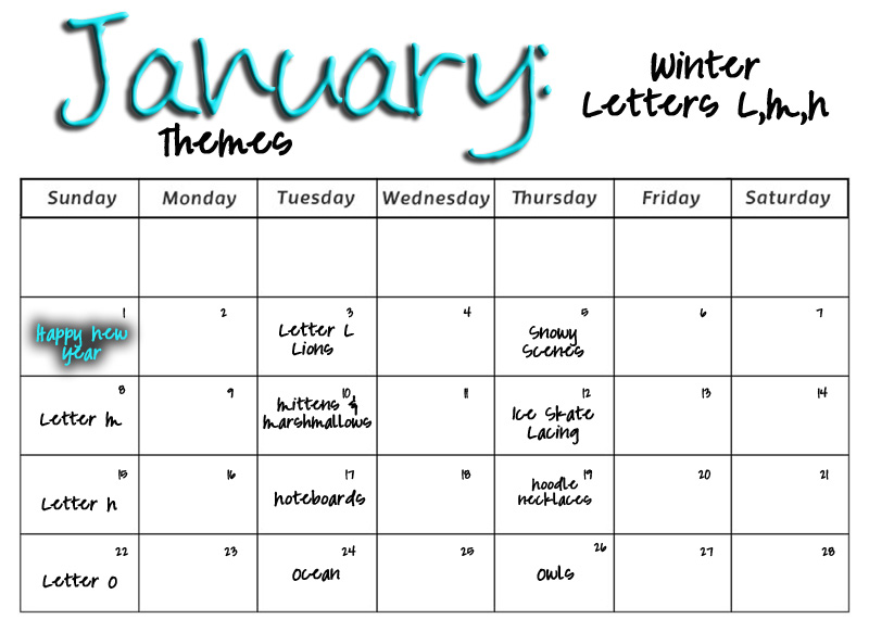Calendar Monthly Themes : Smarty pants preschool monthly calendars
