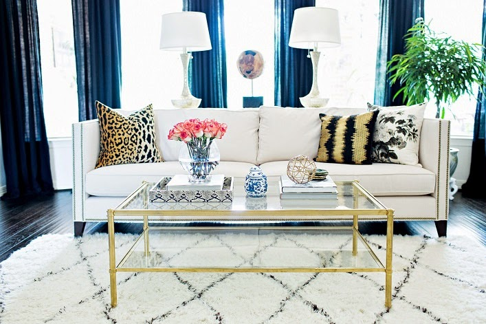 By Incorporating A Mix Of Classic And Modern Pieces With Glam Accents This Home Is Transformed Into An Inviting Eclectically Abode