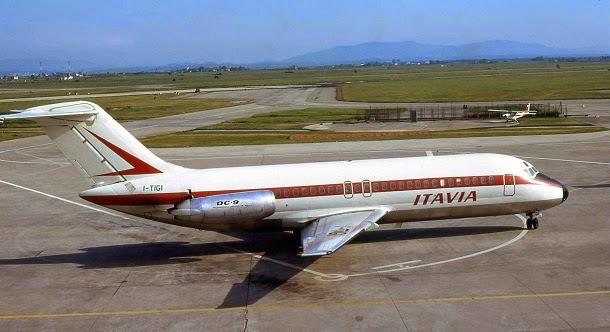 DC-9 da companhia Itavia