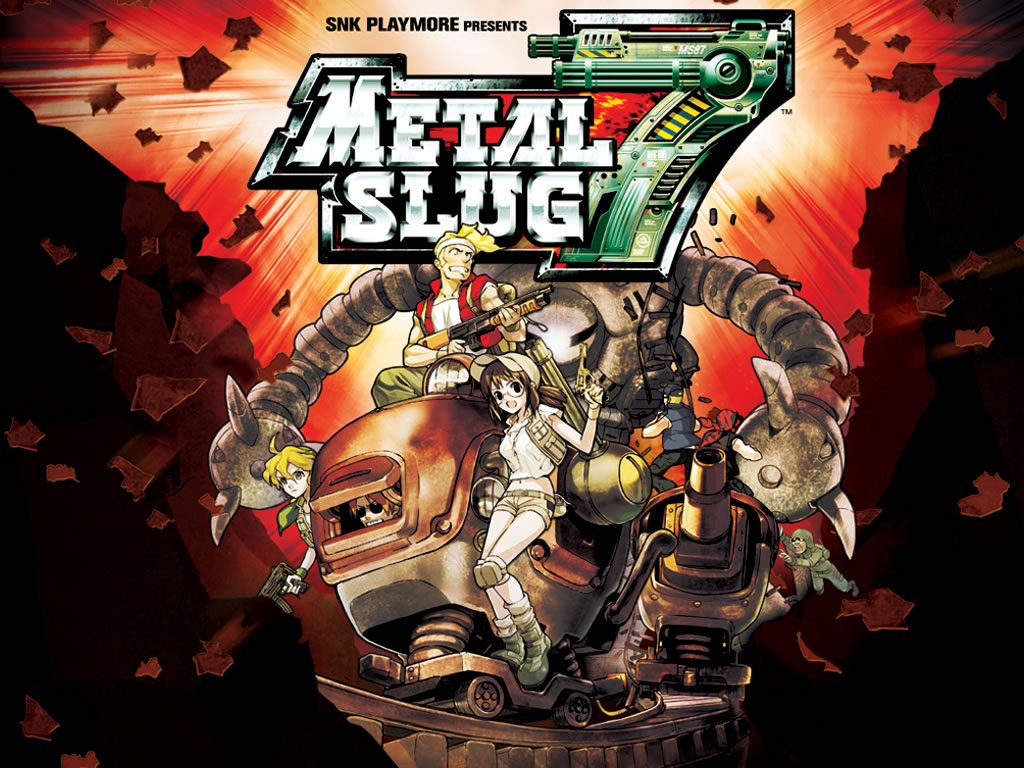 Metal Slug HD & Widescreen Wallpaper 0.949766354891264