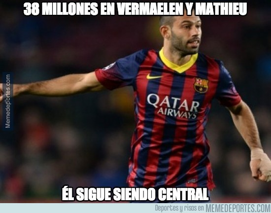 Mascherano Memes Barcelona