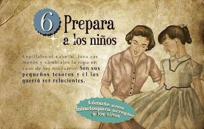 """""""Guía de la buena esposa - 11 reglas para mantener a tu marido feliz"""" - supuestamente publicado en 1953 por la Sección Femenina de Falange Española de las JONS Image7"""