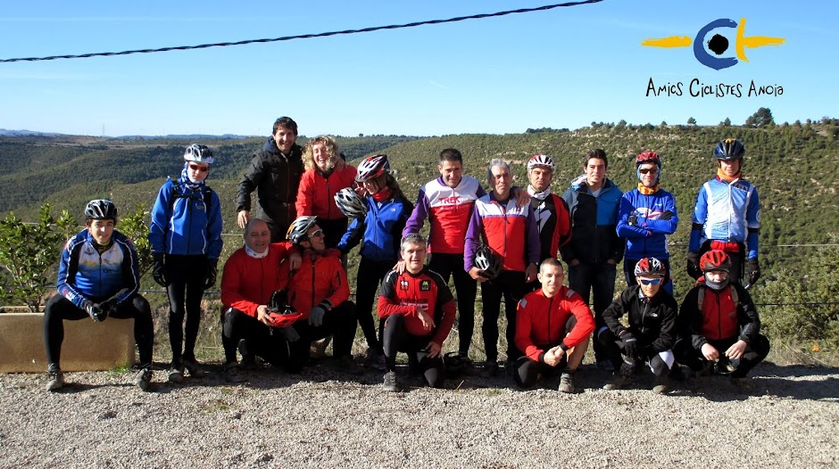 Amics ciclistes Anòia