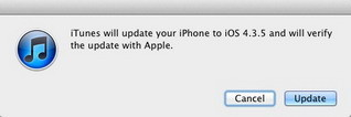 iOS 4.3.5 Firmware update : security fixes