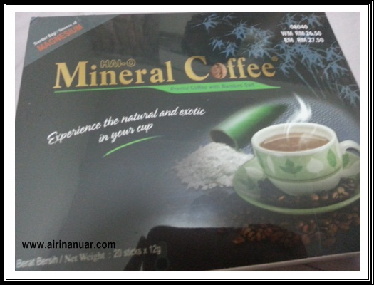 Coffee Lover Mineral Coffee Bamboo salt