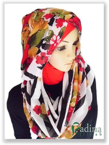 Hoodie Kerut Flower