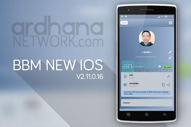 BBM New iOS - BBM Android V2.11.0.16