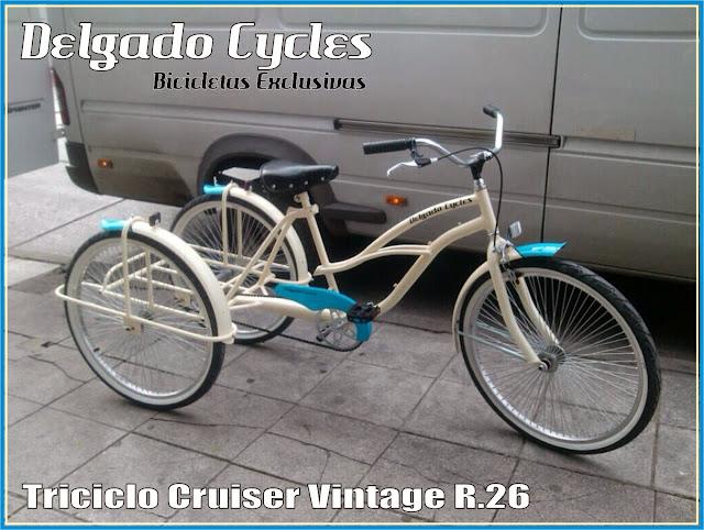 Triciclo Cruiser Vintage R.26