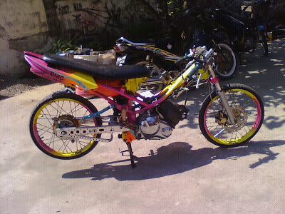 Modifikasi Motor Drag Jupiter z
