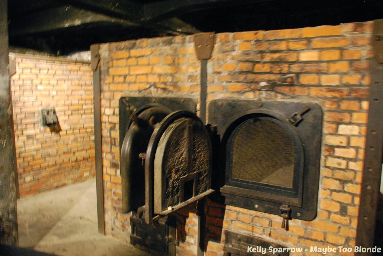 Auschwitz concentration camp crematorium