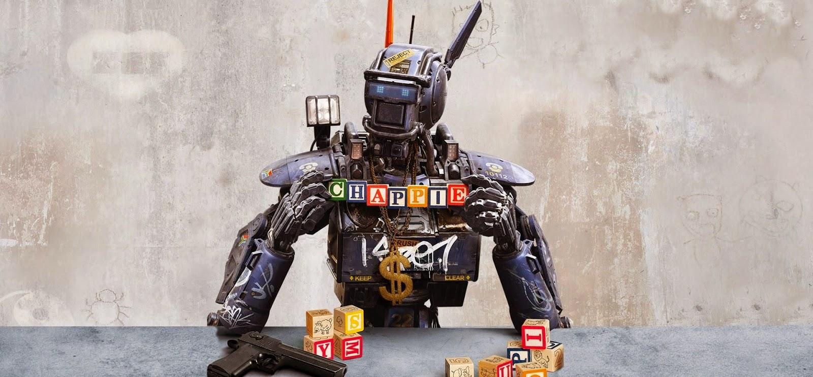 Segundo trailer legendado da ficção CHAPPIE apresenta polícia robótica e Hugh Jackman em ação