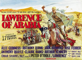 Original film poster Lawrence of Arabia 1962 movieloversreviews.blogspot.comt