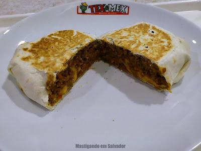 Tex & Mex: Burrito Ranchero (aberto)
