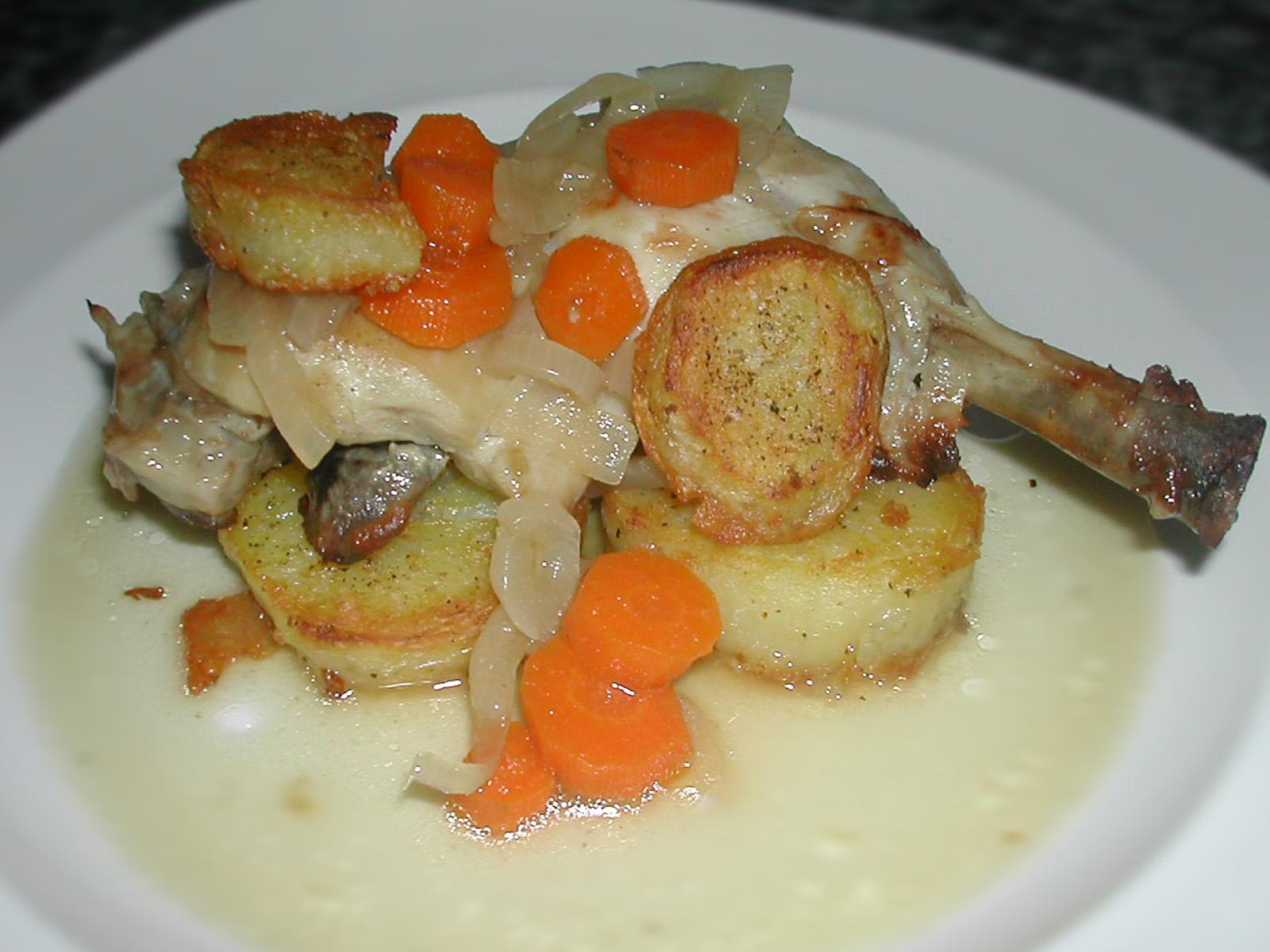 Ecsblog cuartos traseros de pollo al horno for Cuartos traseros de pollo
