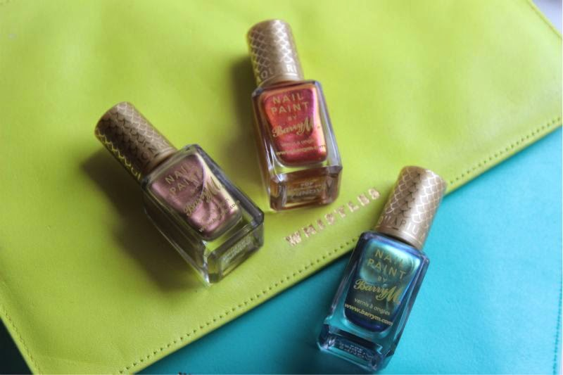 Barry M Aquarium Nail Paint Collection