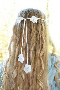 Flower Headband / Hårband