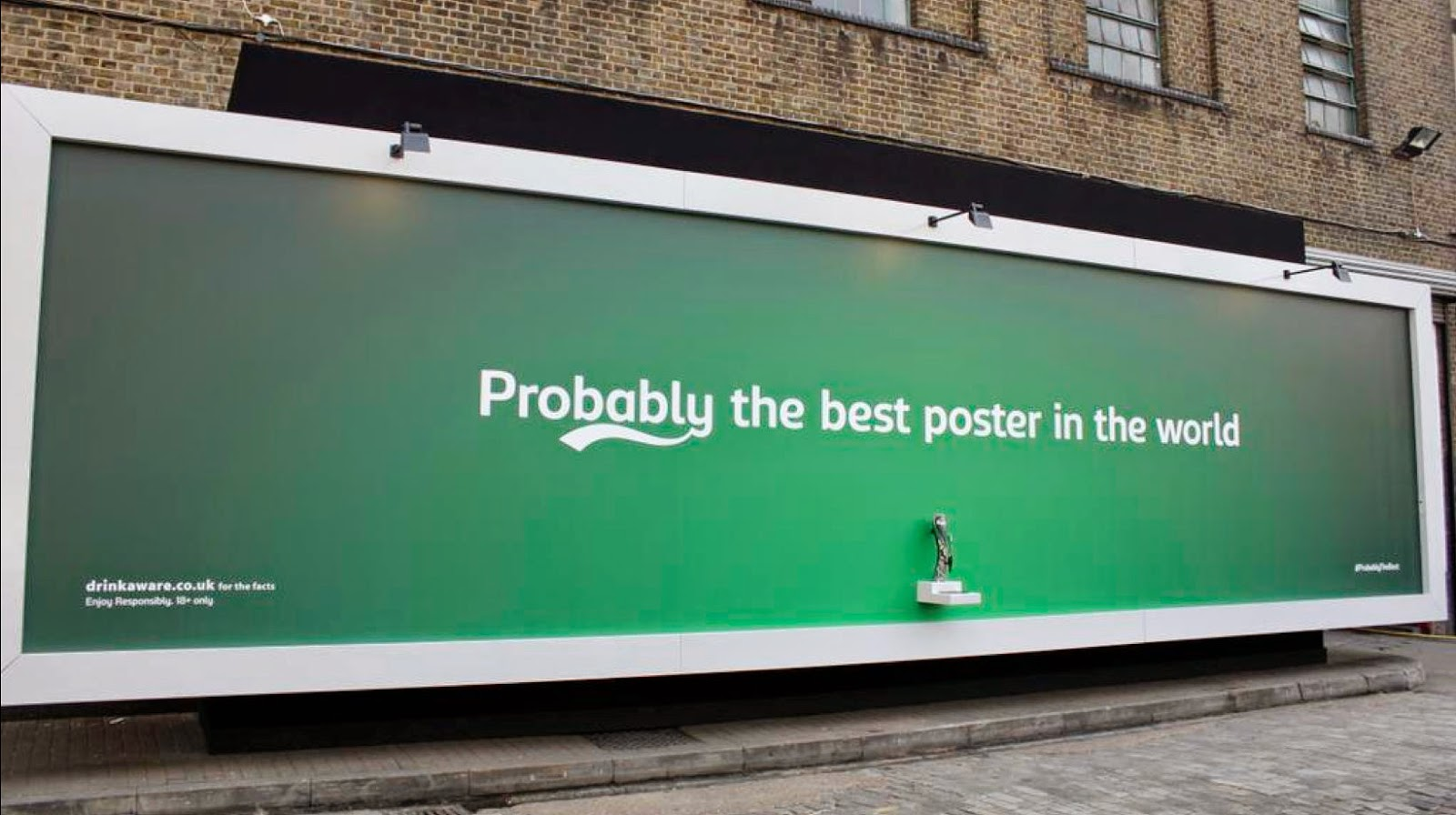Carlsberg - Probably the best poster in the world