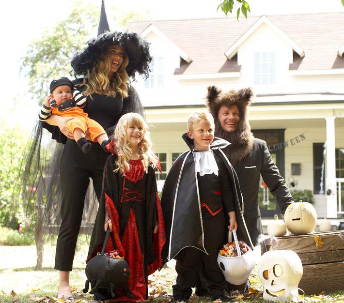 Halloween 2012 una familia monstruosa trendy children - Disfraces en familia ...