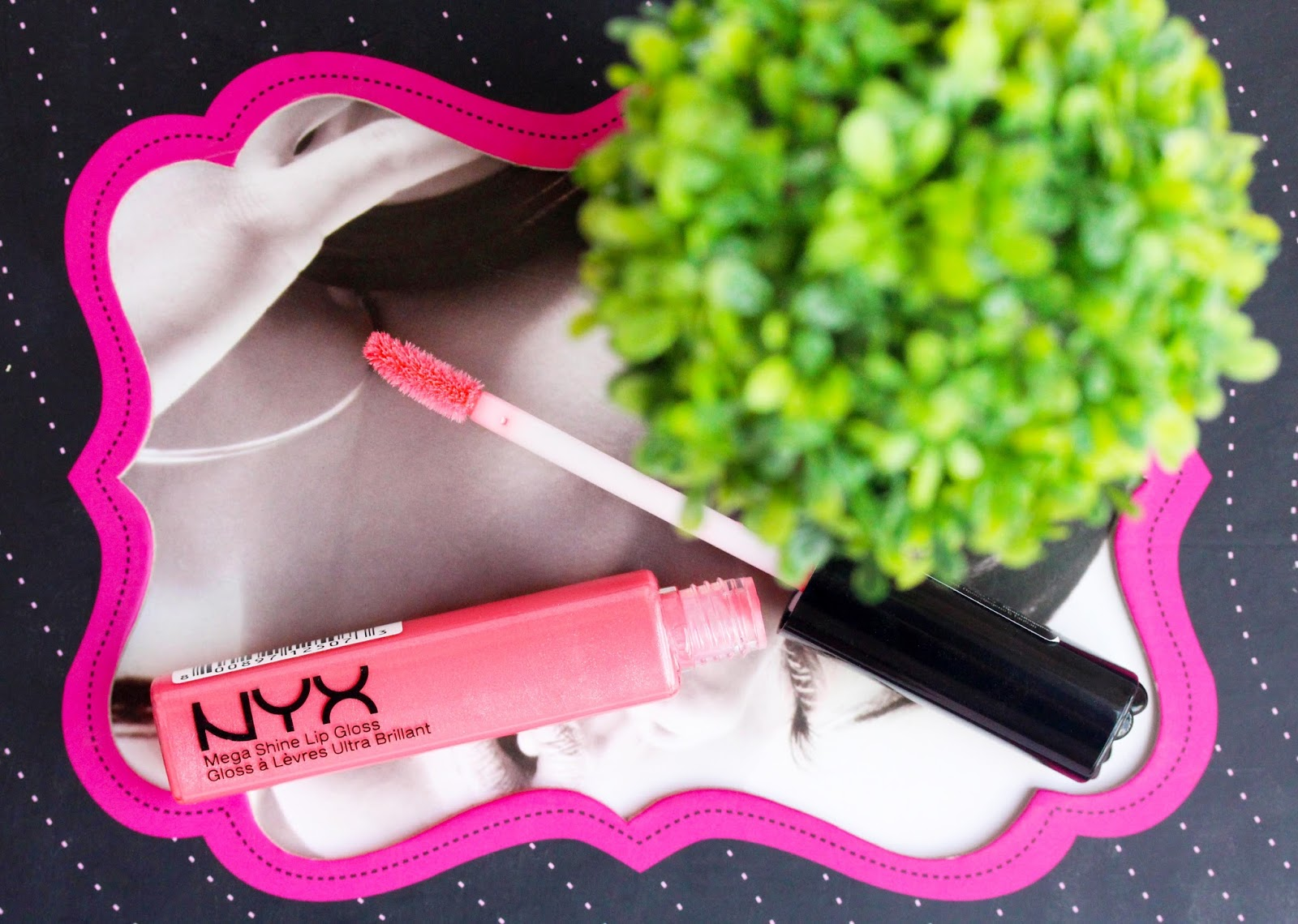 NYX Mega Shine Lip Gloss in La La