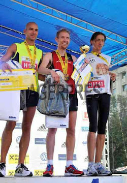 Bucharest International Marathon 2012 - 3rd place - halfmarathon