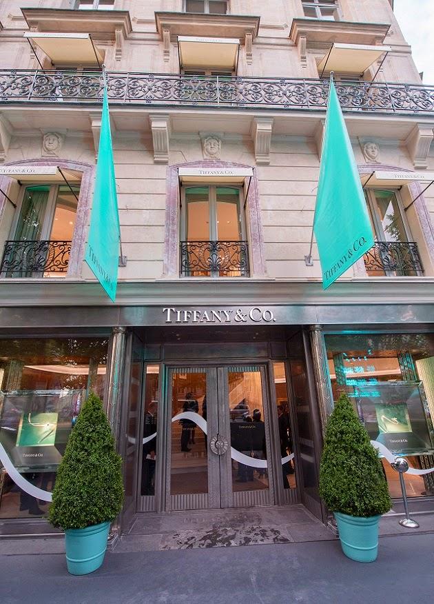 0bab2d08564c mylifestylenews  Tiffany   Co. Opens New Store   Avenue des Champs ...