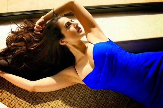 Ameesha Patel hot cleavage hd wallpapers