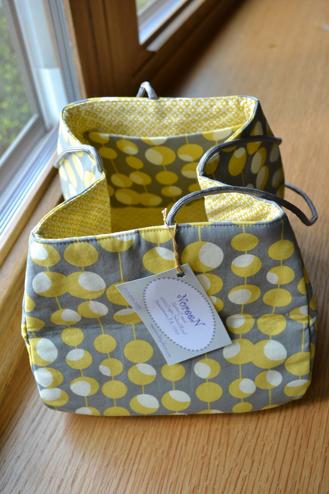 Knitting Bag Pattern To Sew : Susan B. Anderson: Apr 17, 2012