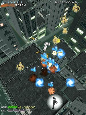 Shikigamo no Shiro arcade videojuego descargar gratis bullet hell shoot'em up