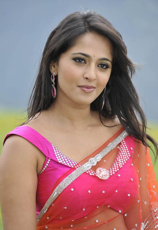 Anushka hot Pics in saree  Damarukam Movie