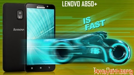 Smartphone lenovo A850+ lõi 8