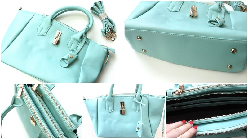 Review: LookBookStore Mint Faux Leather Bag