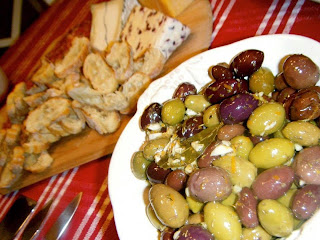 Warm Marinated Olives from Katie-Kate's Kitchen