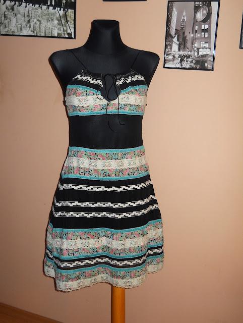 charme e chique przewiewna sukienka na lato 2012