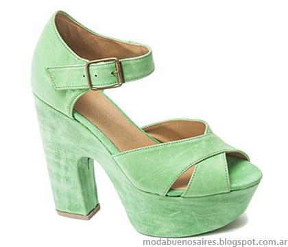 Traza calzado femenino sandalias 2015.