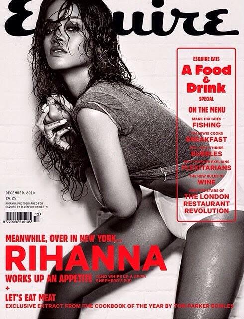 Rihanna x Esquire Magazine Décembre 2014