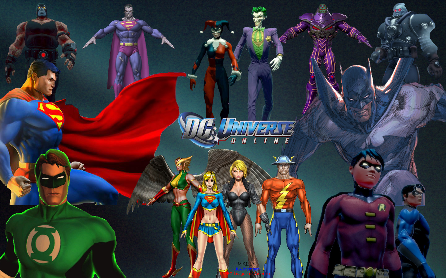 Dc Universe HD & Widescreen Wallpaper 0.345795283196219