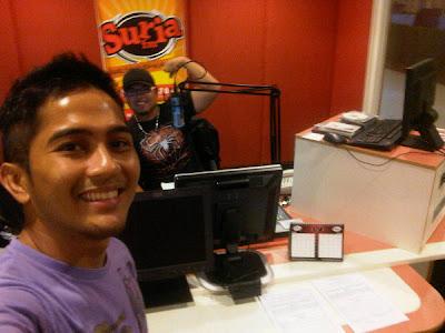 Gambar Farish Aziz Jadi DJ Suria FM Sabah
