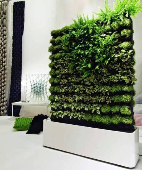 Jardines verticales muros verdes paredes vegetales - Jardines verticales interior ...